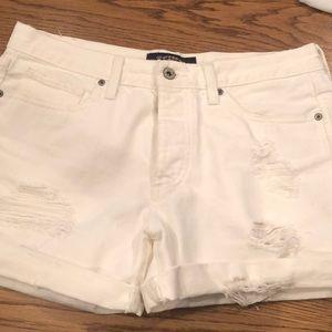 White Lucky Brand denim shorts